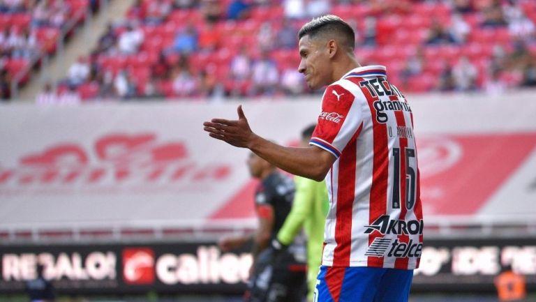 Uriel Antuna fue abucheado durante el partido
