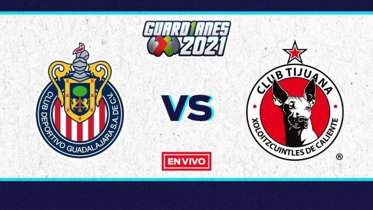 EN VIVO Y EN DIRECTO: Chivas vs Xolos
