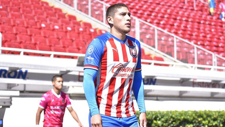 Luis Olivas con un partido con Tapatío