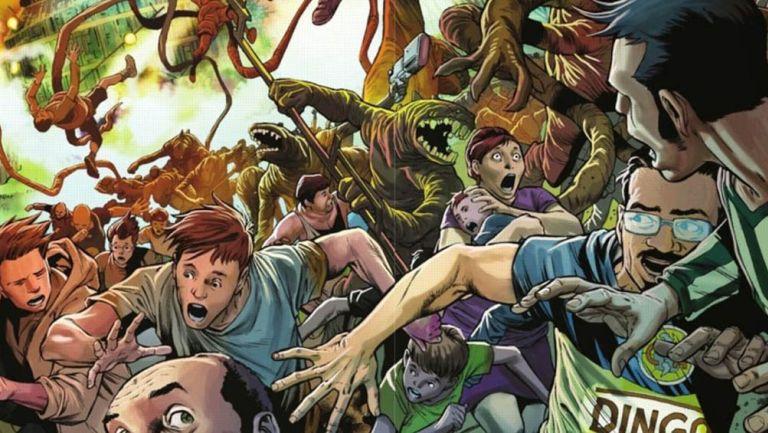 Aficionado del América en un cómic de Marvel