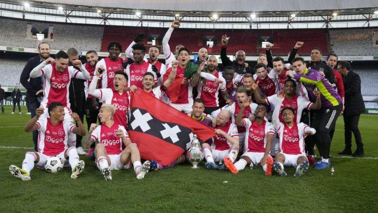 Edson Álvarez: Ajax, Campeón de la Copa de Países Bajos al vencer al Vitesse