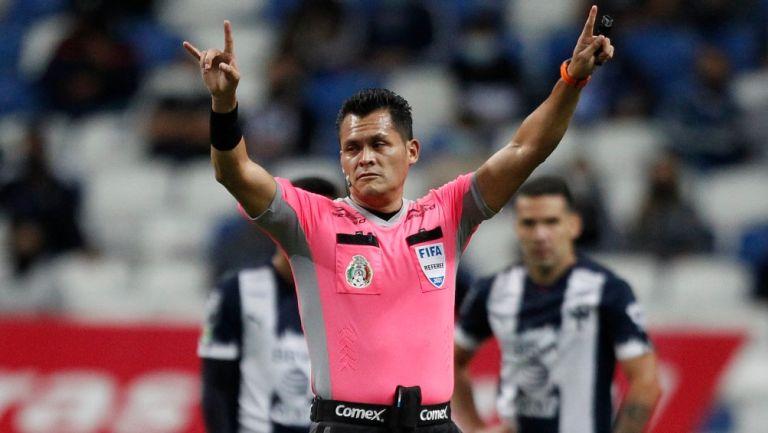 Pérez Durán, en el Monterrey vs Pachuca