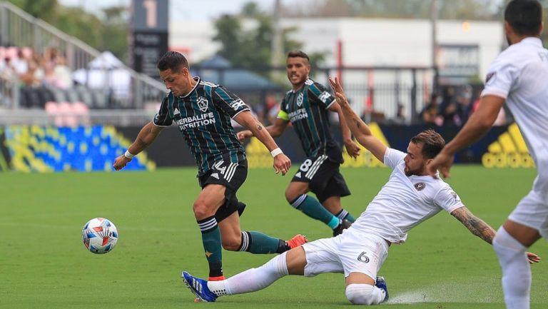 Chicharito Hernández: El delantero marcó doblete en el juego ante el Inter Miami