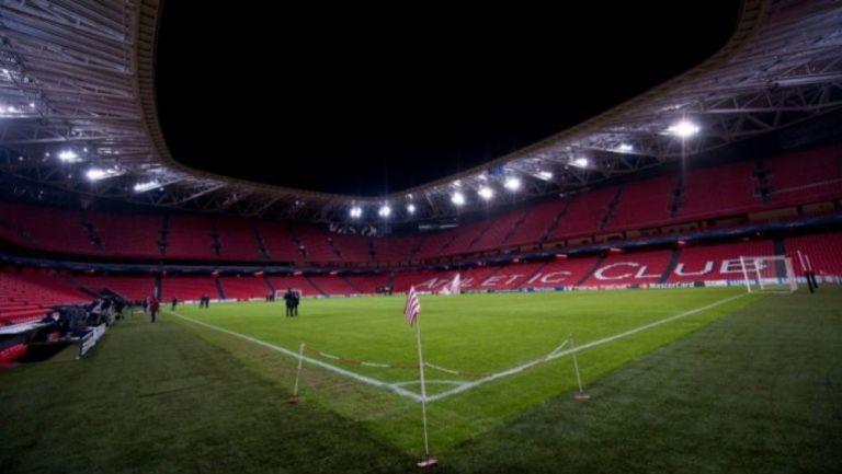 Estadio San Mamés en Bilbao
