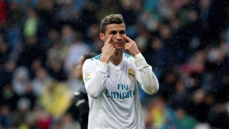 Cristiano Ronaldo en paso por el Real Madrid