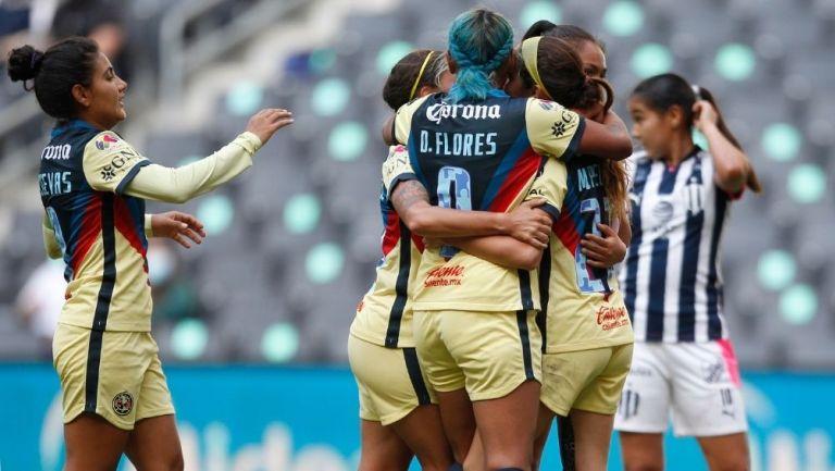 América Femenil empató vs Rayadas