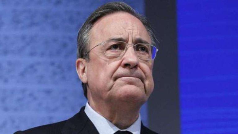 Florentino Pérez en presentación