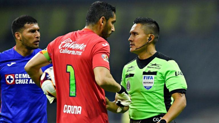 Jesús Corona y Fernando Guerrero en el Clásico Joven