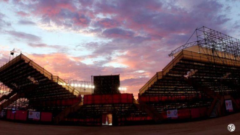 Nuevo estadio del Abierto de Los Cabos