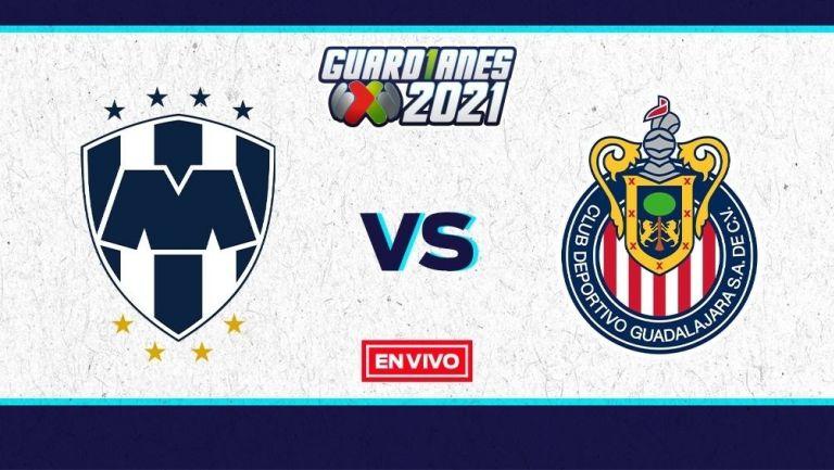 EN VIVO Y EN DIRECTO: Rayados vs Chivas