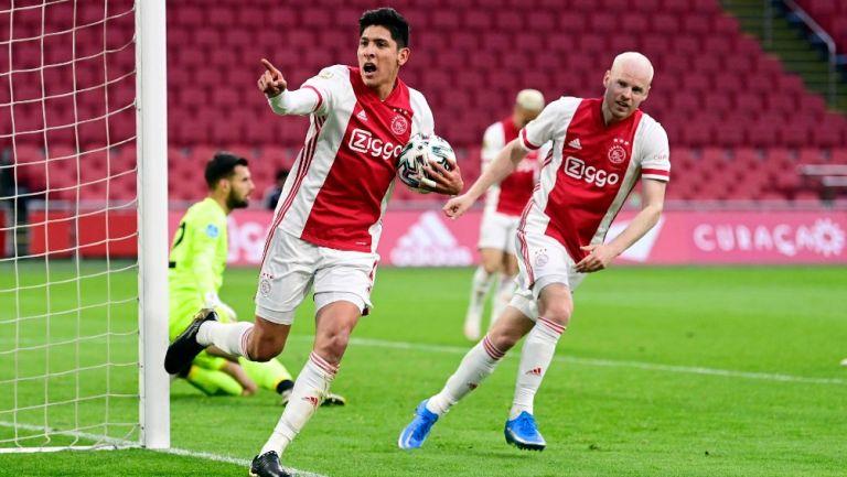 Edson Álvarez: Ajax empató ante el Utrecht con gol del mexicano