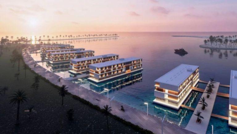 Proyecto de hoteles flotantes de Qatar para el próximo Mundial