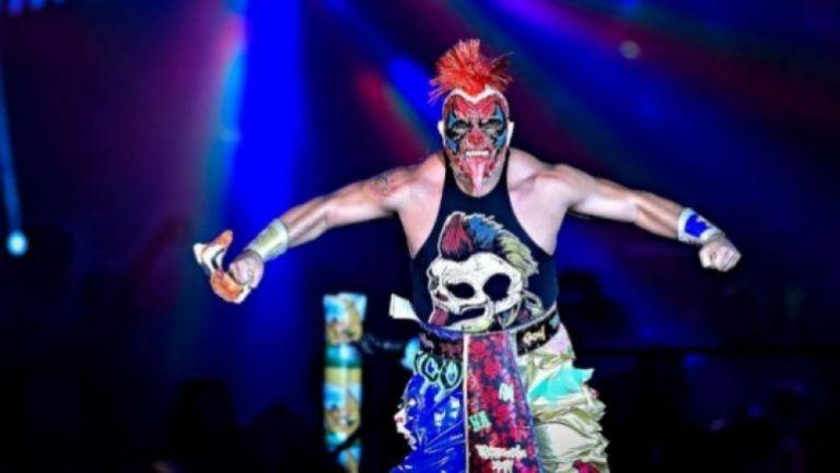 Psycho Clown en un evento de lucha libre