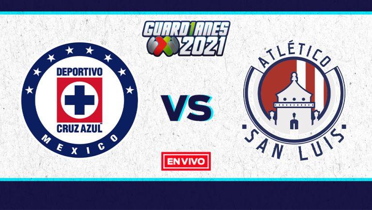 EN VIVO Y EN DIRECTO: Cruz Azul vs San Luis Guardianes 2021 J16