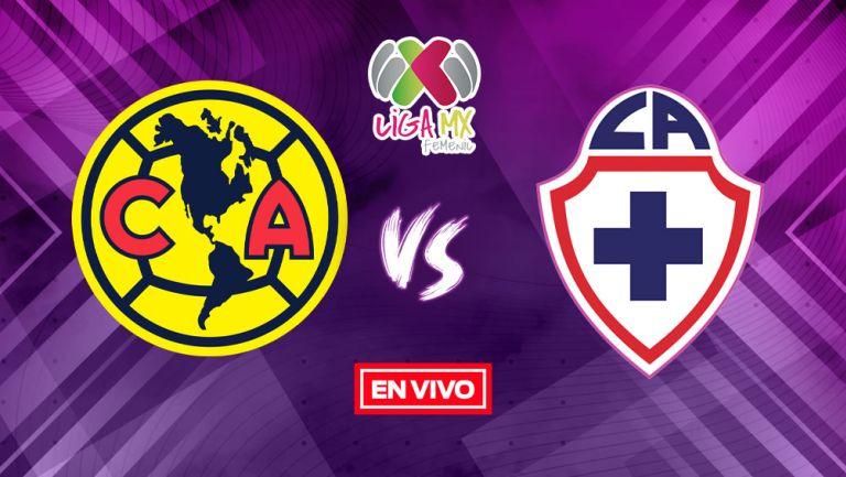 EN VIVO Y EN DIRECTO: América vs Cruz Azul Liga MX Femenil J16