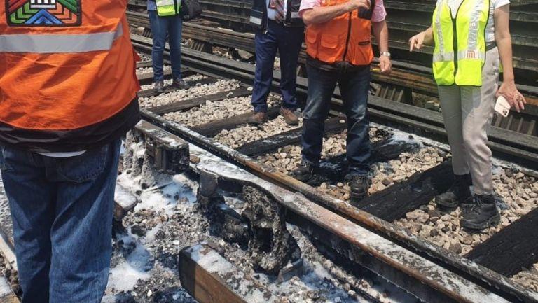 CDMX: Línea 4 del Metro suspendió servicio por conato de incendio