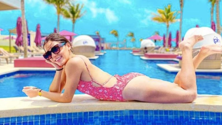 Casandra Ascencio se lució en Cancún