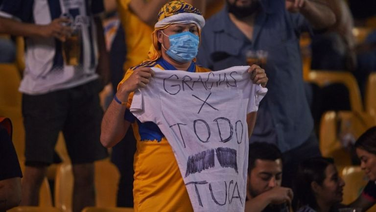Afición de Tigres agradeció al Tuca
