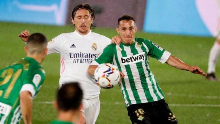Real Madrid y Betis no lograron pasar del empate