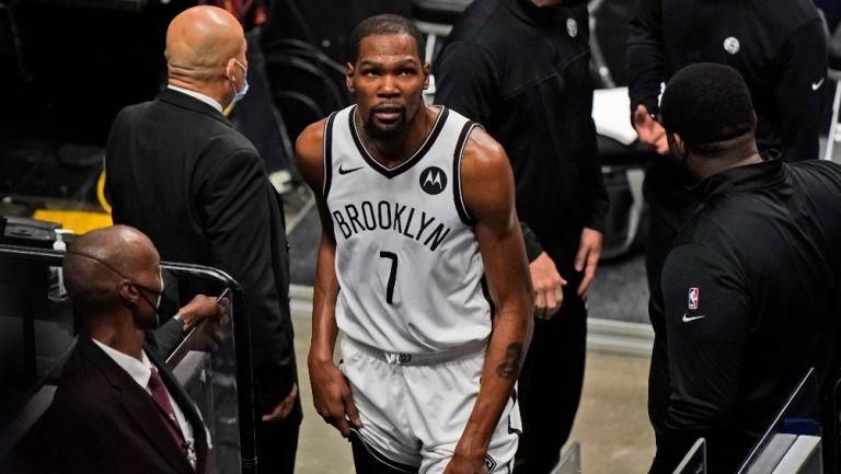 NBA: Kevin Durant volvería en el juego ante los Suns