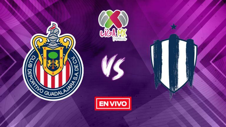 EN VIVO Y EN DIRECTO: Chivas vs Rayadas Liga MX Femenil G2021 J16