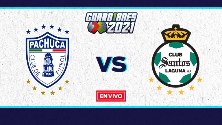 EN VIVO Y EN DIRECTO: Pachuca vs Santos Guardianes 2021 J16