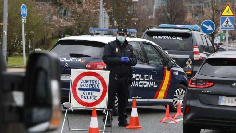 Policía en España