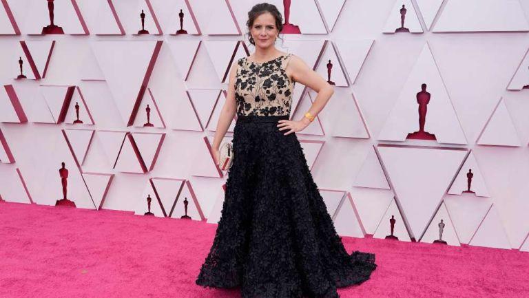 Michelle Couttolenc en los Oscars