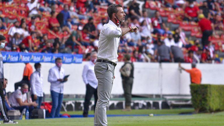 Diego Cocca en el Atlas vs Chivas