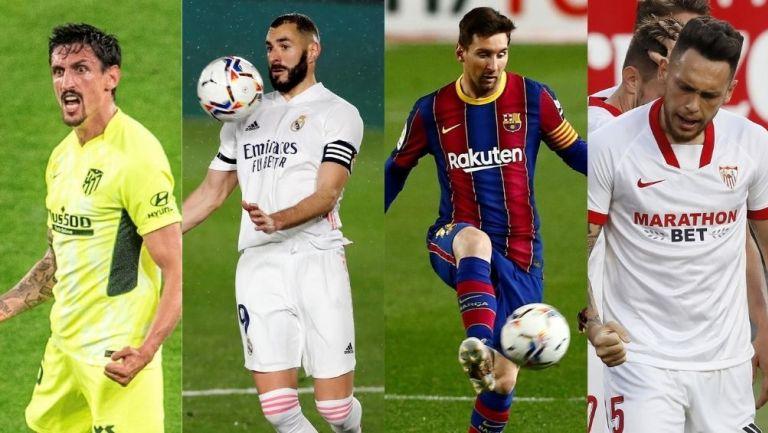 Atleti, Real Madrid, Barca y Sevilla tienen posibilidades de pelear