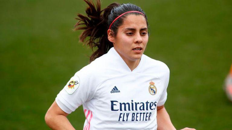 Kenti Robles anotó su primer gol con el Real Madrid