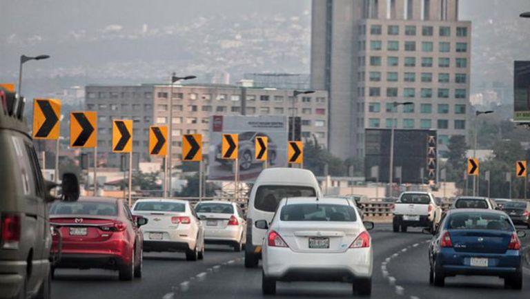 Vehículos en la capital del país
