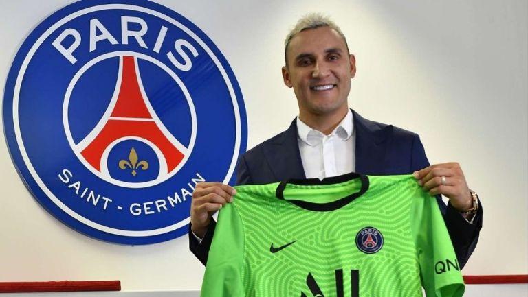 Keylor Navas extendió su contrato con el PSG