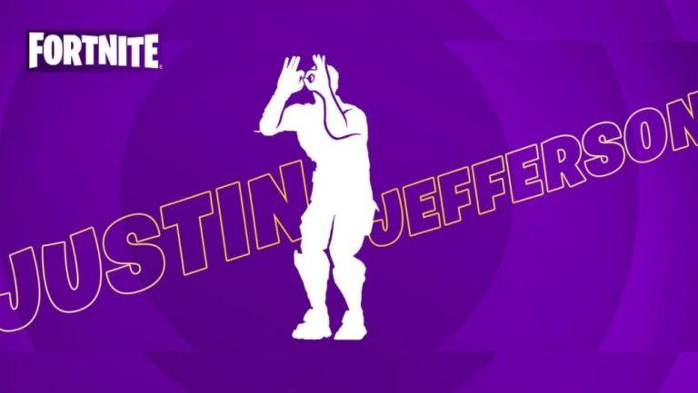 Justin Jefferson llegará a Fortnite