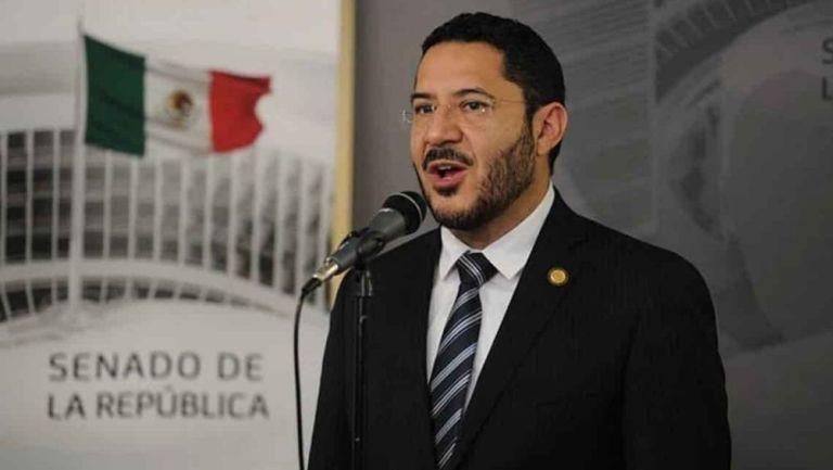Martí Batres, senador de Morena
