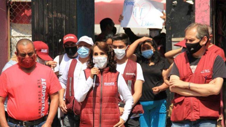 Dolores Padierna Luna, candidata a la Alcaldía de Cuauhtémoc