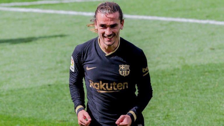 Antoine Griezmann en el partido entre Barcelona y el Villarreal