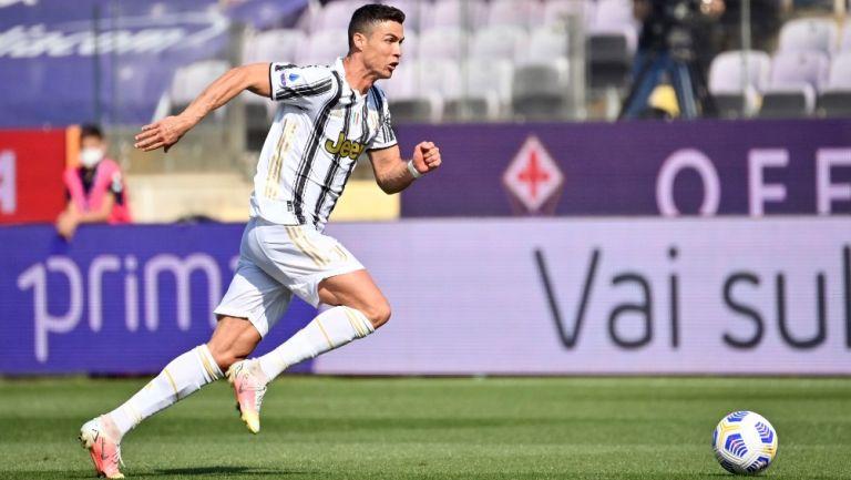 Cristiano Ronaldo con la Juventus en la Serie A