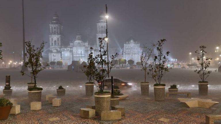 La Catedral Metropolitana afectada por la granizada