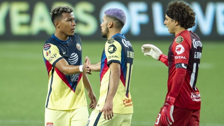 Roger Martínez marcó la ventaja momentánea