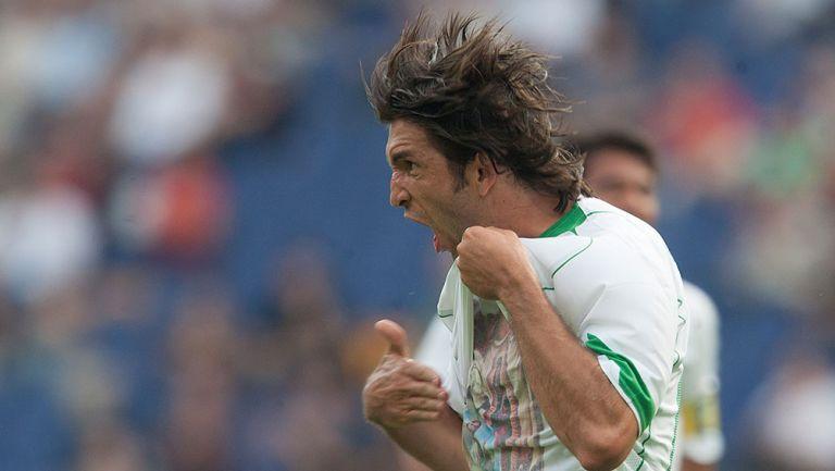 El Kikín Fonseca en partido con Selección Mexicana