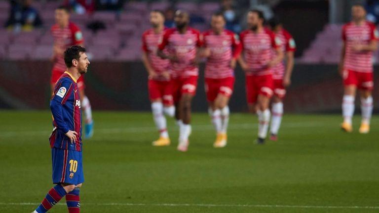 Messi en derrota frente al Granada