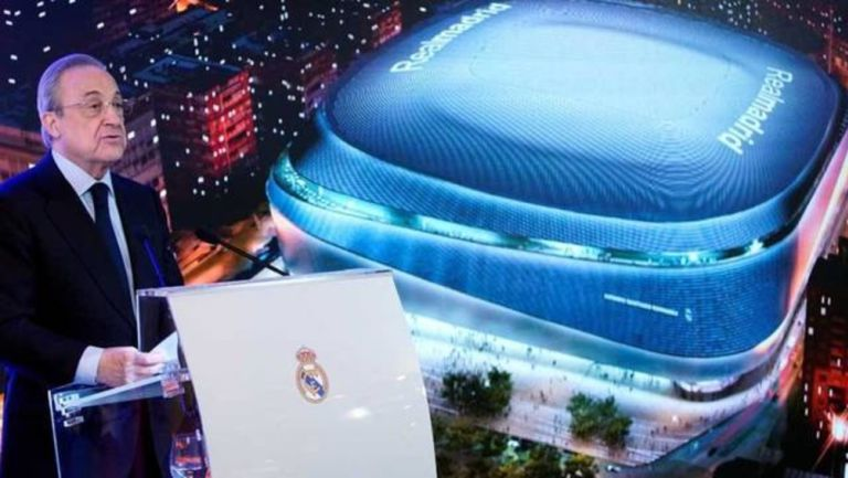 NFL: Florentino Pérez desea llevar futbol americano al Santiago Bernabéu