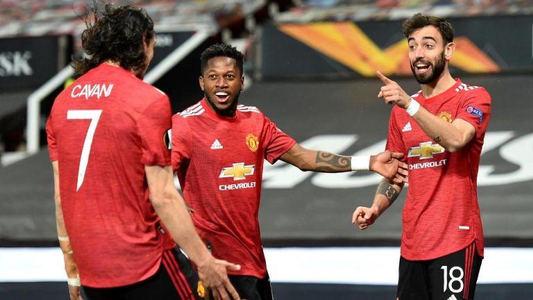 Europa League: Manchester United goleó a la Roma y pone un pie y medio en la Final