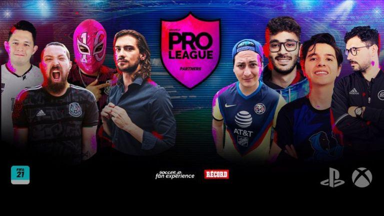 Pro League Partners reúne a creadores de contenido y Pro Players