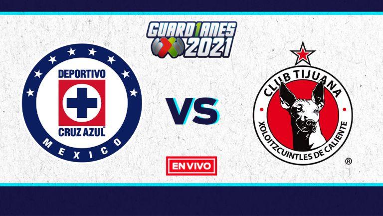 EN VIVO Y EN DIRECTO: Cruz Azul vs Tijuana Guardianes 2021 J17