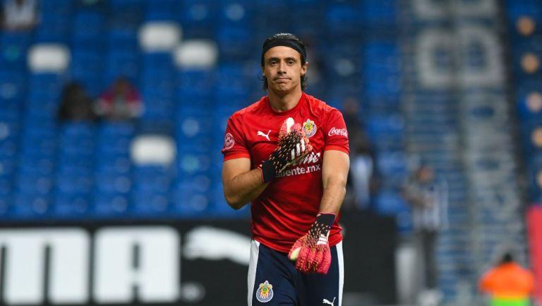 Toño Rodríguez previo a un partido con Chivas