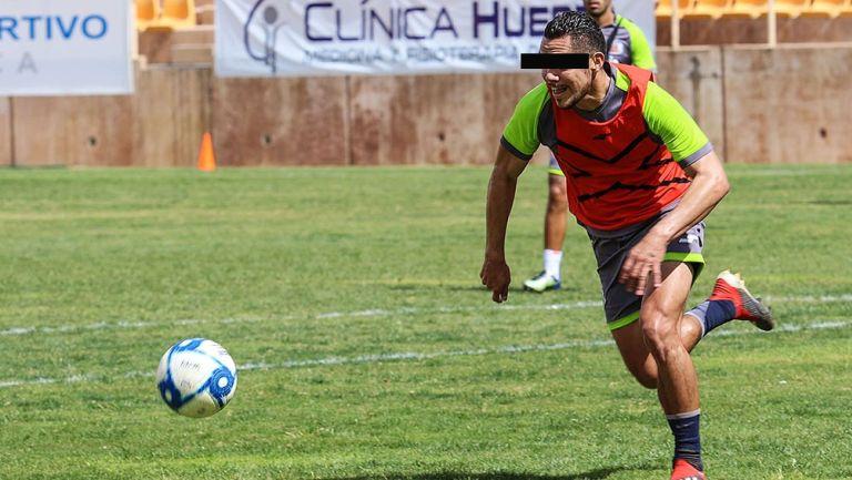 Freddy Martín, en un entrenamiento