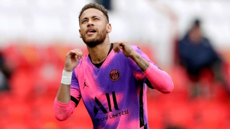 Neymar durante un partido del París Saint-Germain