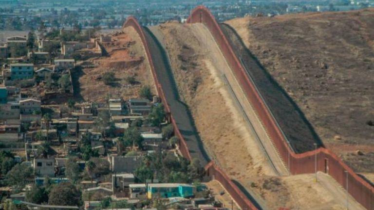Muro fronterizo entre EUA y México